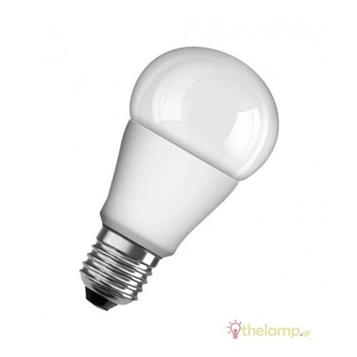 Led κοινή A75 10.5W E27 230V warm white 2700K value Osram