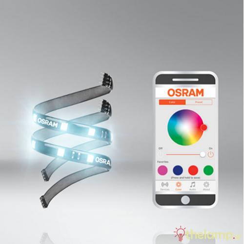 Led ταινία 12V 4W 30cm RGB app LEDambient tuning lights LEDINT102 kit Osram