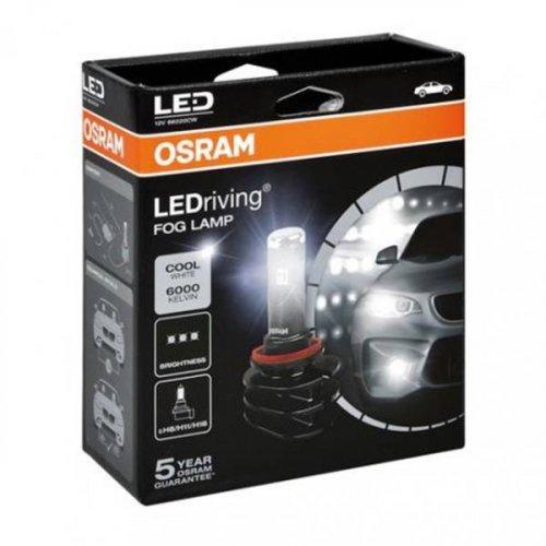 Osram Led 12V 13W PGJ19-1/2/3 H8/H11/H16 day light 6000K LEDriving Fog Lamp 66220CW