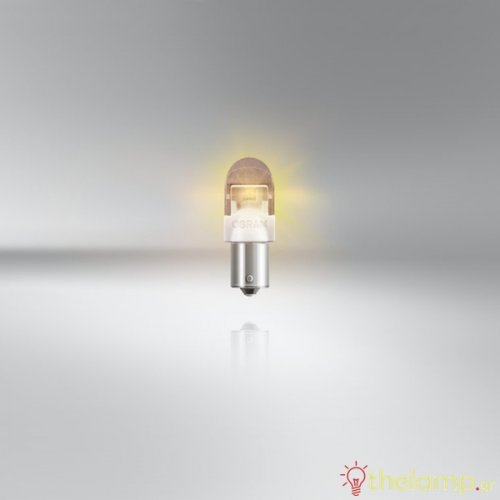 Osram Led 12V 2W BAU15s PY21W κίτρινο LEDriving Premium DUO blister 7557YE-02B