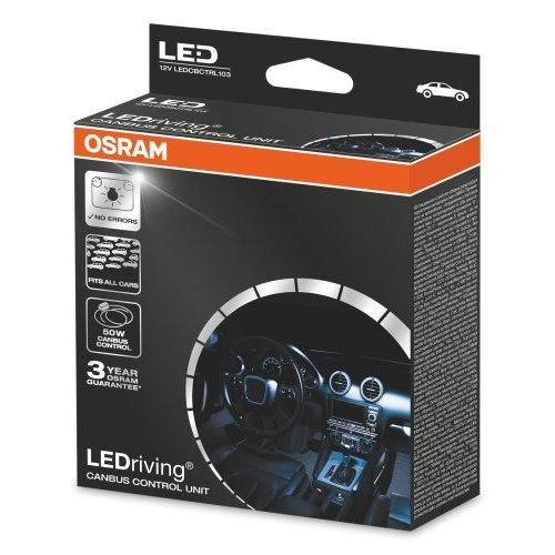 Osram 12V 50W CAN BUS CONTROL UNIT LEDriving DUO Blister LEDCBCTRL103
