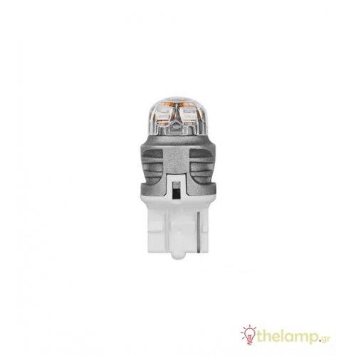 Osram Led 12V 1.5W W3x16d W21W κίτρινο LEDriving Premium DUO blister 7905YE-02B