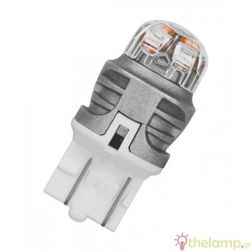 Osram Led 12V 1.5W W3x16q W21/5W κόκκινο LEDriving Premium DUO blister 7915R-02B