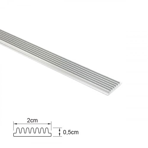 Προφίλ αλουμινίου με μεταλλική ψύκτρα 2m IP20 Φos_me