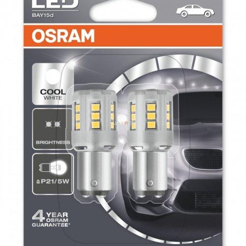 Osram 12V 2/0.4W BAY15d P21/5W day light 6000K LEDriving Standard DUO blister 1457CW-02B