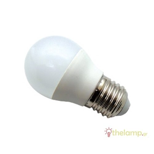 Led γλομπάκι G45 6W E27 180-265V cool white 4000K J&C