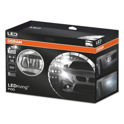 Φανάρι αυτοκινήτου 12/24V 7/12W day light 6000K BOX1 LEDFOG 101 Osram