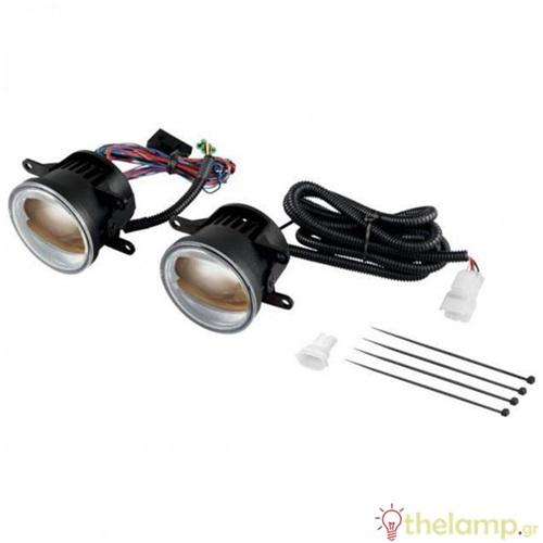 Φανάρι αυτοκινήτου 12V 4/12W day light 6000K BOX1 LEDFOG103-GD Osram