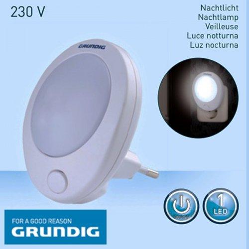 Φωτάκι νυκτός led 1W με διακόπτη 41342 Grundig