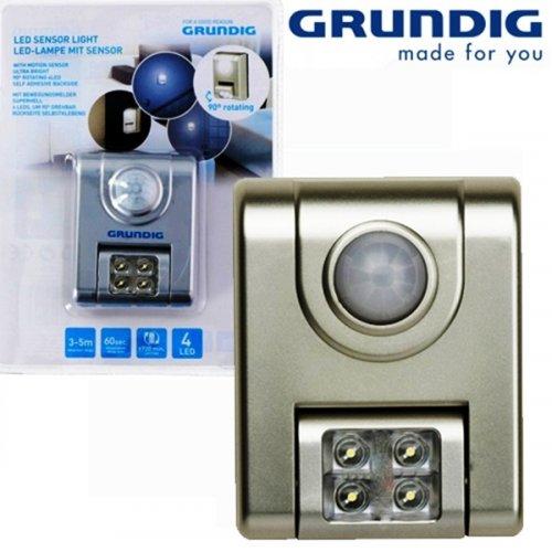 Φωτάκι νυκτός με αισθητήρα κίνησης και 4 Led 15707 Grundig