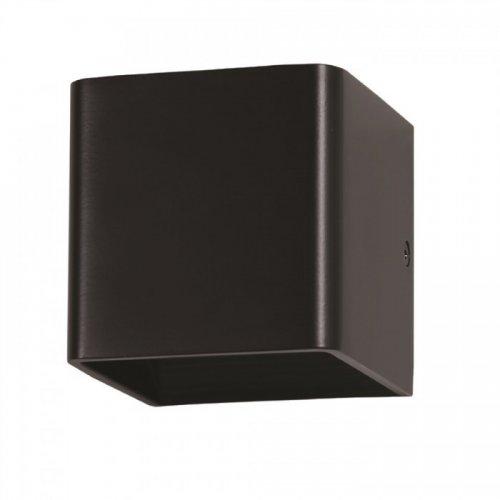 Led φωτιστικό τοίχου 5W 110-240V 120° warm white 3000K μαύρο 7084 VT-758 V-TAC