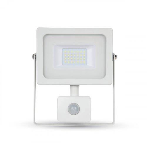 Προβολέας led 20W 230V 100° day light 6400Κ λευκός με αισθητήρα κίνησης 5806 VT-4922 V-TAC
