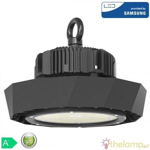 Led καμπάνα UFO 120W 120° day light 6400K Samsung chip 569 VT-9-120 V-TAC