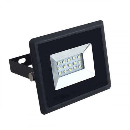 Προβολέας led 10W 230V 100° day light 6500K μαύρος 5942 VT-4011 V-TAC