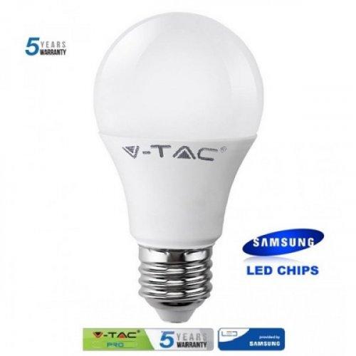 Led κοινή A58 11W E27 220-240V warm white 3000K Samsung chip 177 VT-211 V-TAC