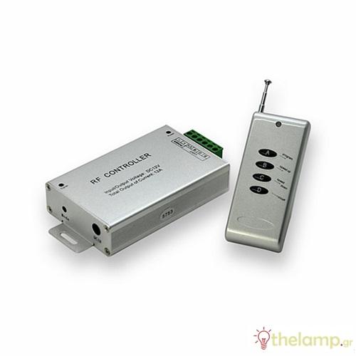 Controller για led ταινία με τηλεχειριστήριο 12A 144W 12/24V 3303 VT-2404 V-TAC