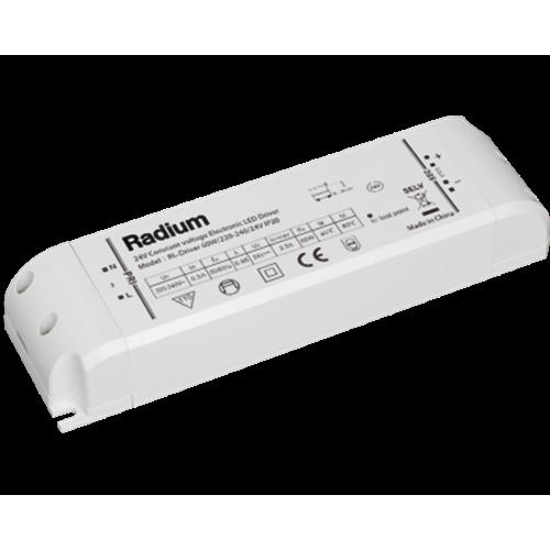 Τροφοδοτικό 230V->24V 2.5A 60W για Led ταινία RL-Driver IP20 Radium