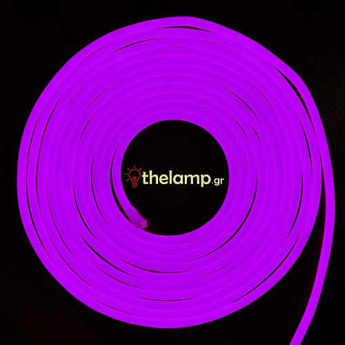 Led ταινία neon flex 24V 120led βιολετί 2531 VT-555 V-TAC