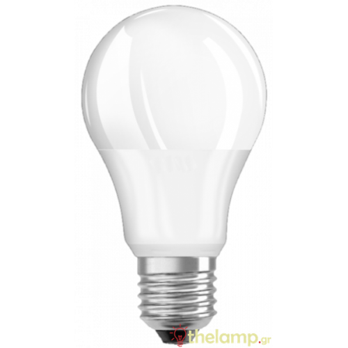 Led κοινή A40 5.5W E27 240V cool white 4000K Radium