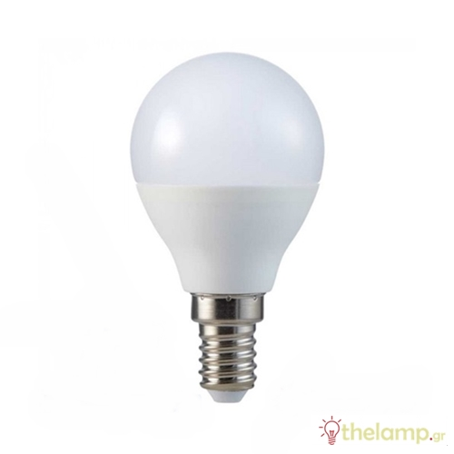 Led γλομπάκι P45 5.5W E14 220-240V day light 6400K Samsung chip 170 VT-236 V-TAC