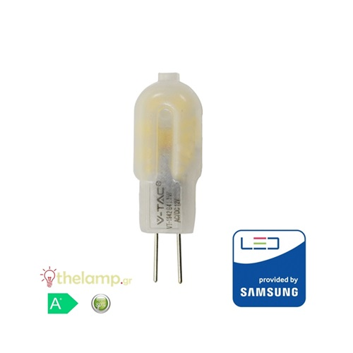 Led G4 1.5W 12V 300° warm white 3000K Samsung chip 240 VT-201 V-TAC
