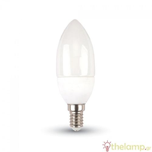 Led κερί 3W E14 220-240V 200° day light 6000K 7198 VT-2033 V-TAC