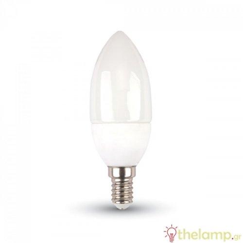 Led κερί 3W E14 220-240V 200° cool white 4500K 7197 VT-2033 V-TAC