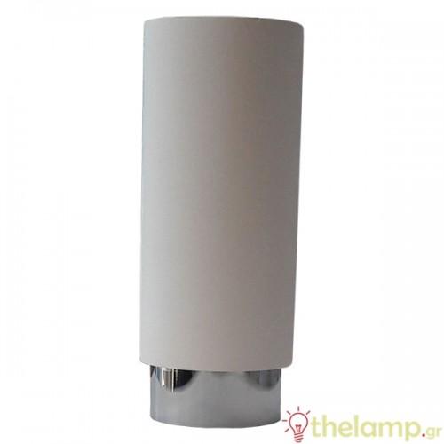 Επιφανειακό φωτιστικό στρόγγυλο GU10 λευκό-χρώμιο 3114 VT-865CHM V-TAC