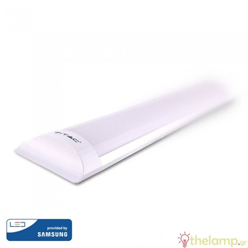 Φωτιστικό led πρισματικό 20W 240V 60cm 110° day light 6400K Samsung chip 664 VT-8-20 IP20 V-TAC