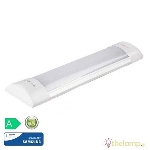 Φωτιστικό led πρισματικό 10W 240V 30cm 110° day light 6400K Samsung chip 661 VT-8-10 IP20 V-TAC