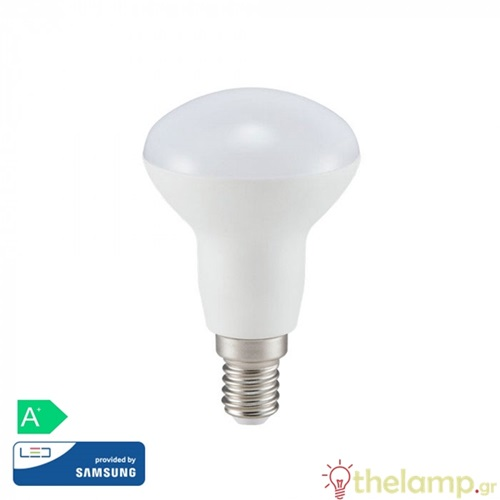 Led καθρέπτου R50 6W E14 240V day light 6400K Samsung chip 140 VT-250 V-TAC