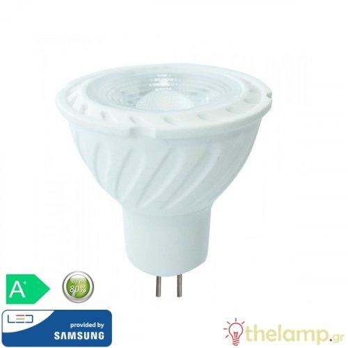 Led 6.5W MR16 12V 38° day light 6400K Samsung chip 209 VT-267 V-TAC