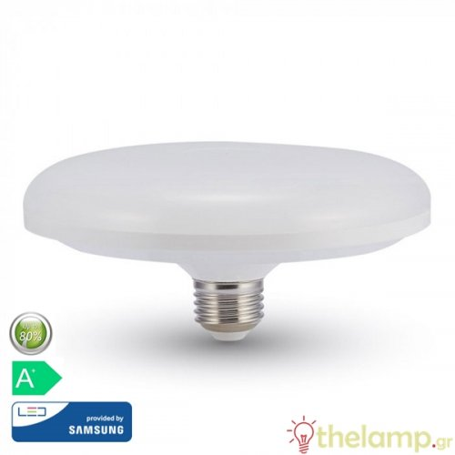 Led F200 24W E27 220-240V cool white 4000K Samsung chip 217 VT-224 V-TAC