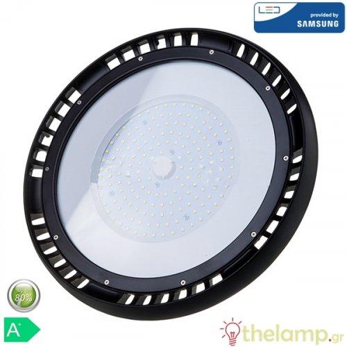 Led καμπάνα UFO 150W 240V 120° day light 6400K Samsung chip 551 VT-9-149 V-TAC