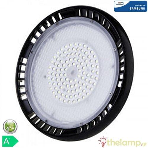 Led καμπάνα UFO 100W 240V 90° cool white 4000K Samsung chip 564 VT-9-100 V-TAC