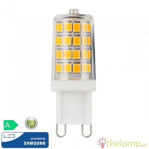 Led G9 3W 240V cool white 4000K Samsung chip 247 VT-204 V-TAC
