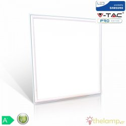 Led panel 45W 240V 110° warm white 3000K τετράγωνο Samsung chip 632 VT-645 V-TAC