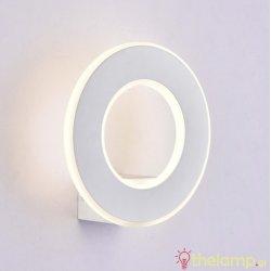 Led φωτιστικό τοίχου 9W 240V στρόγγυλο 360° cool white 4000K λευκό 8226 VT-710 V-TAC