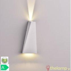 Led φωτιστικό τοίχου 6W 240V 15°/120° cool white 4000K λευκό 8296 VT-826 V-TAC
