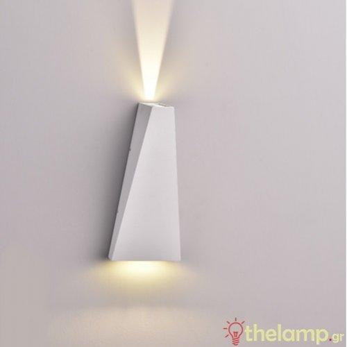 Led φωτιστικό τοίχου 6W 240V 15°-120° cool white 4000K λευκό 8296 VT-826 V-TAC