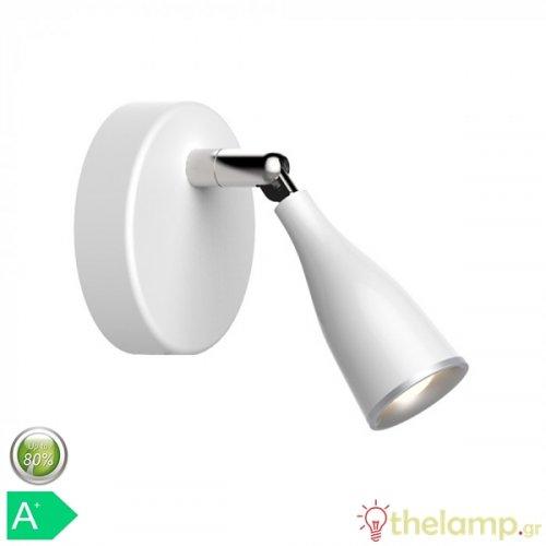 Led φωτιστικό οροφής μονό 4.5W 240V 100° warm white 3000K λευκό 8262 VT-805 V-TAC