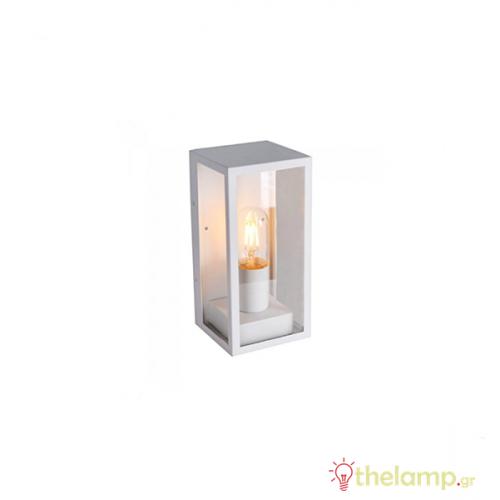 Φωτιστικό τοίχου εξωτερικού χώρου τετράγωνο λευκό E27 240V 8518 VT-837 V-TAC