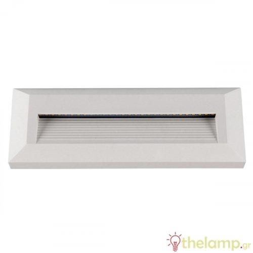 Led φωτιστικό τοίχου σκάλας 3W 100-240V 55° cool white 4000K λευκό 1326 VT-1152 V-TAC