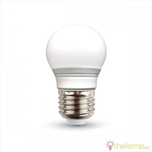 Led γλομπάκι G45 3W E27 240V day light 6000K 7204 VT-2053 V-TAC