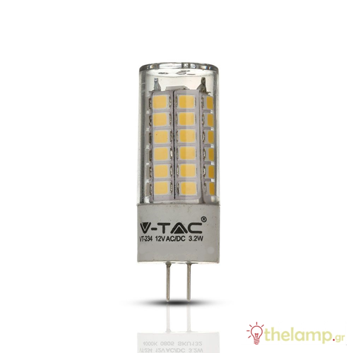 Led G4 3.2W 12V day light 6400K Samsung chip 133 VT-234 V-TAC