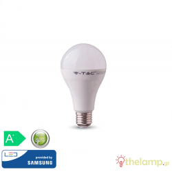 Led κοινή A80 18W E27 240V day light 6400K Samsung chip 128 VT-298 V-TAC