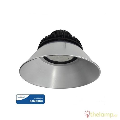 Καπέλο αλουμινίου για Led καμπάνα 90° Samsung 570 V-TAC