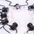 Φωτιστικό γιρλάντα αδιάβροχο E27 100-240V 5m με 10 λάμπες filament warm white 3000Κ 2728 VT-71510 V-TAC