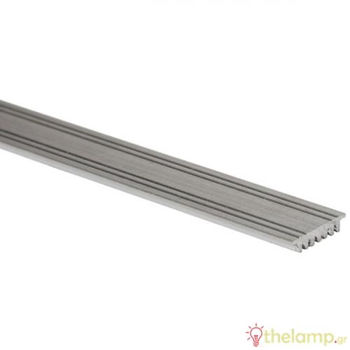 Προφίλ αλουμινίου με μεταλλική ψύκτρα 2m IP20 00/AL