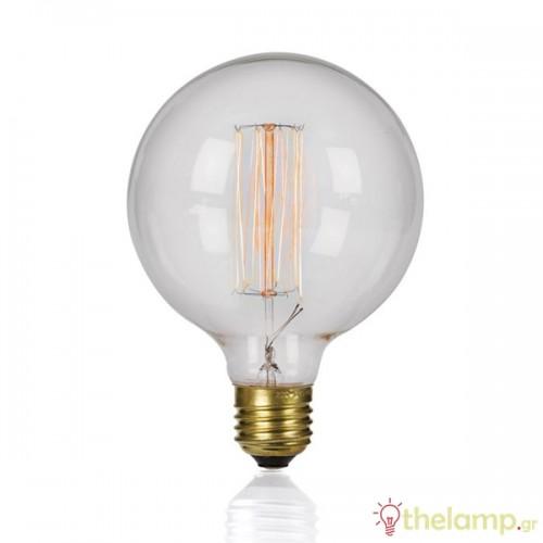 Edison 230V 40W E27 G125-19A νήματος